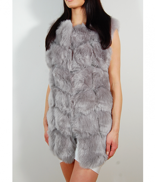 faux-fur-vest-long-grey